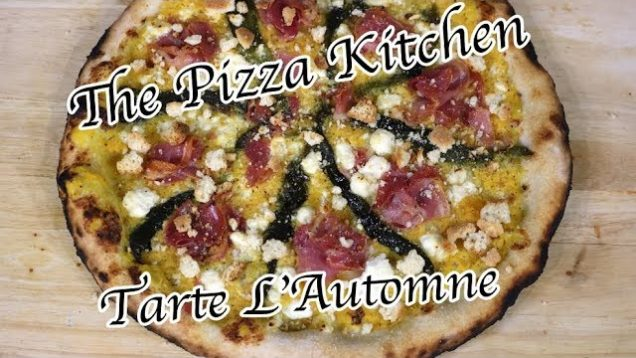 The Pizza Kitchen – Tarte L'Automne (Autumn Pie)