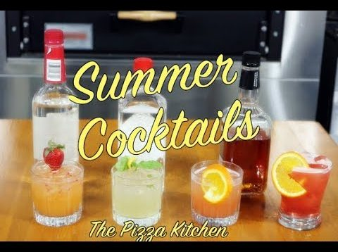 The Pizza Kitchen – Summer Cocktails