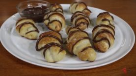 The Pizza Kitchen – Pizza Dough Twists with Nutella