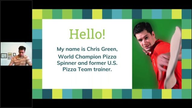Learn to Throw Dough: Full Webinar with Chris Green