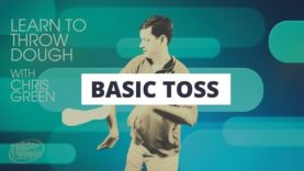 Beginner Pizza Spinning Tricks: The Basic Toss