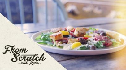 From Scratch with Katie: Blood Orange and Scallop Salad