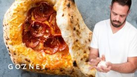 Mike Fitzick makes a Racket Pizza | Gozney