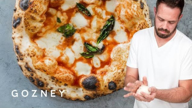 Mike Fitzick makes a Margherita Pizza | Gozney
