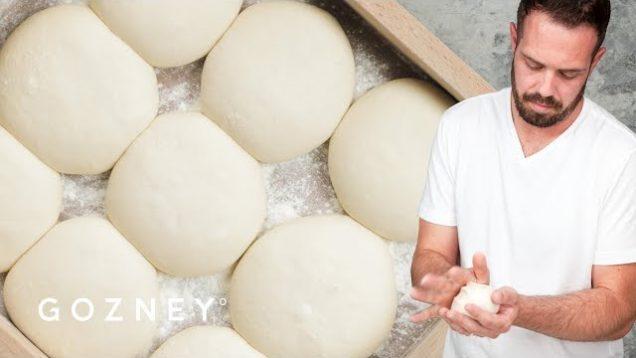 Mike Fitzick makes pizza dough | Gozney