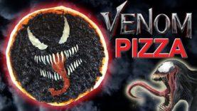 How To Make a VENOM Movie Inspired PIZZA