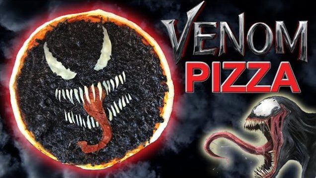 How To Make a VENOM Movie Inspired PIZZA