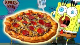 How To Make the KRUSTY KRAB PIZZA from Spongebob Squarepants!