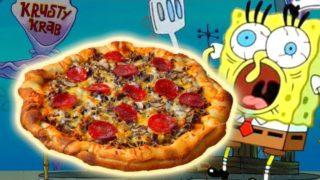How To Make the KRUSTY KRAB PIZZA from Spongebob Squarepants!