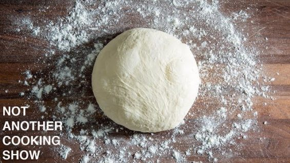HOW TO MAKE FRESH PIZZA DOUGH (WITHOUT MIXER)