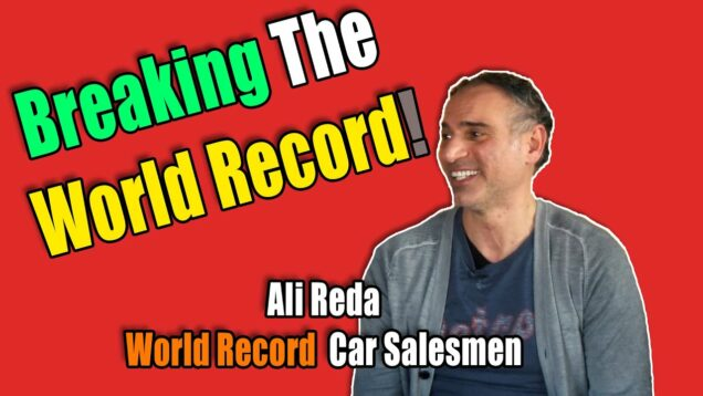 Ali Reda On Breaking The World Record Of Car Sales