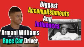 Armani Williams On His Biggest Accomplishment and Favorite Pro Drivers