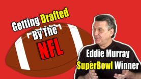 Eddie Murray Talks Getting Drafted By The NFL