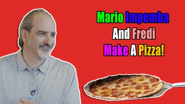 Mario Impemba And Fredi Make A Pizza talking family CLIP #2