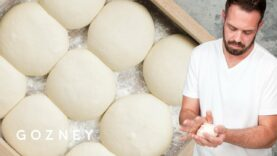 Mike Fitzick makes pizza dough | Gozney